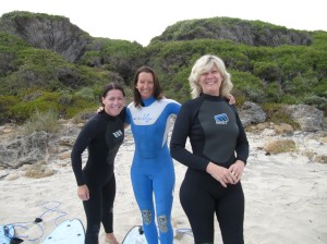 Surfing with Layne Beachley