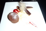 Delicious dessert at Rafter's Restaurant