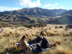 Picnic in the high country