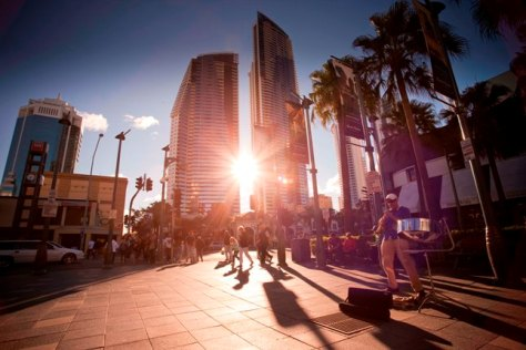 Cavill Avenue is full of action with dining, shopping, nightlife and more.