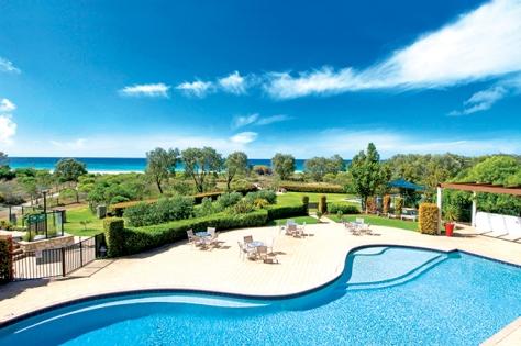 Wyndham Resort & Spa Dunsborough overlooks Geographe Bay.